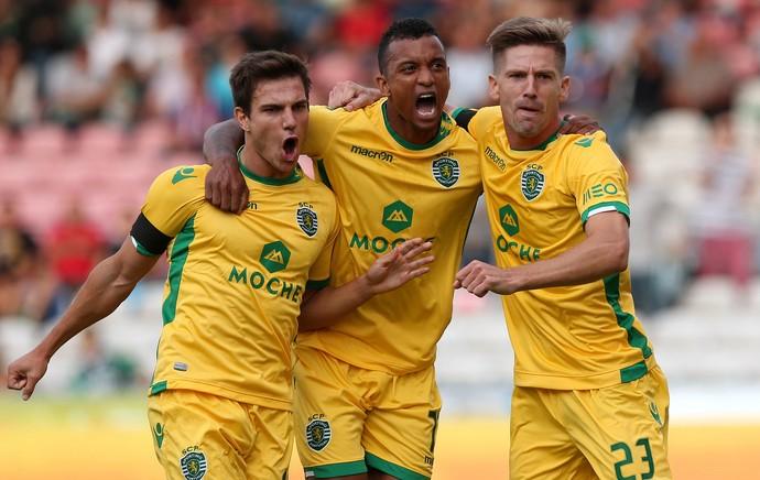 Nani gol Sporting (Foto: AFP)