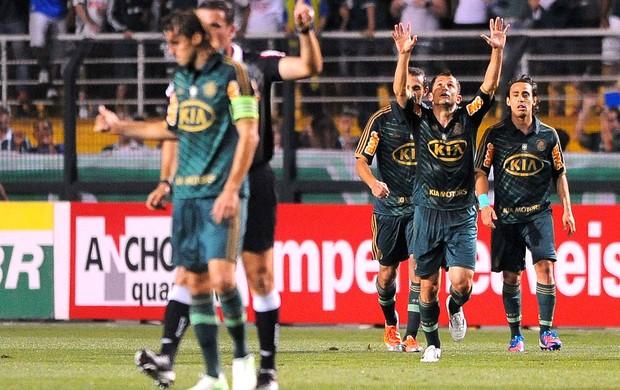Correa, Palmeiras x Santos (Foto: Marcos Ribolli / Globoesporte.com)