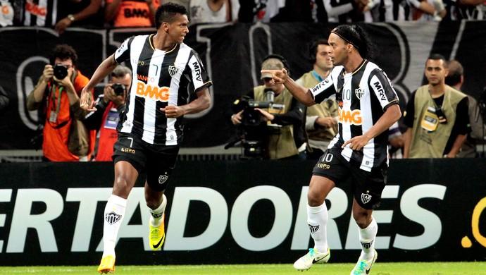 Jô gol Atlético-MG final Olimpia Libertadores (Foto: Reuters)