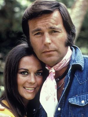 Natalie Wood e Robert Wagner em 1974 (Foto: AFP/The Kobal Collection)