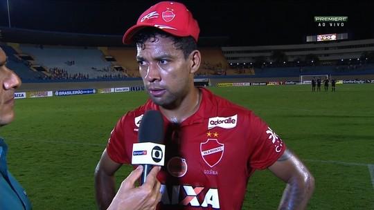 Após empate, Wallyson pede mais capricho ao ataque do Vila Nova