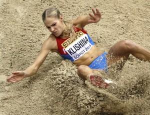 Darya Klishina; atletismo; salto em distância (Foto: Getty Images)