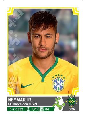 Álbum da Copa América - Neymar Brasil