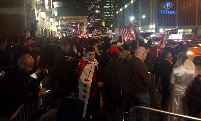 Republicanos celebram em Nova York