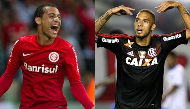 montagem (Foto: Reprod. Globoesporte/ Divulg. Flamengo)