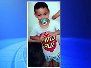 Polícia investiga morte de menino de 4 anos (Foto: Reprodução / TV TEM)