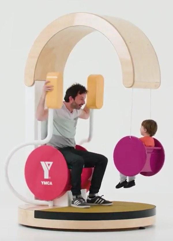 """Exercício em família: """"Pais ativos têm crianças mais ativas"""" (Foto: Reprodução)"""