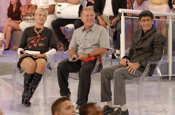 Fagner participa de homenagem a Zico no TV Xuxa (Foto: TV Globo/Rafael Sorín)