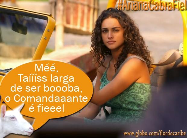 Taís (Foto: Flor do Caribe/TV Globo)