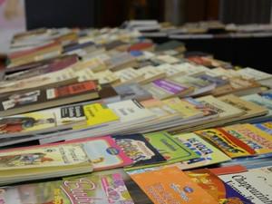 Feira de Troca de Livros e Gibis do Senac acontecem em Campinas (SP) (Foto: Tarciana Migotto)