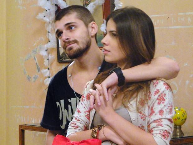 A farsa de Cristal dá certo e deixa Gabriel furioso (Foto: Malhação / Tv Globo)