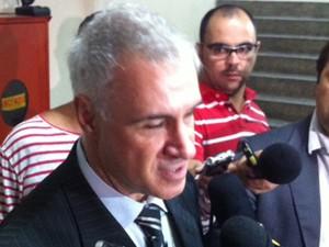 Delegado Daniel Cohen, responsável pelo caso da morte de três pessoas no Alto da Lapa (Foto: Roney Domingos/G1)