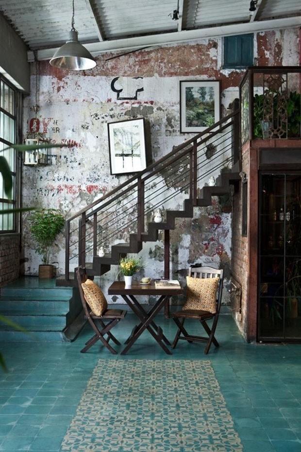 Décor do dia: Sala de jantar com inspiração vintage (Foto: Reprodução)