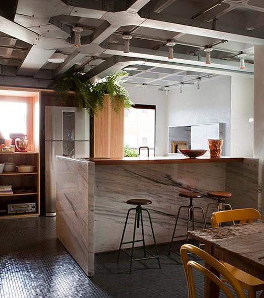 Bancada + banqueta = dupla imbatível na cozinha - Casa e Jardim ...