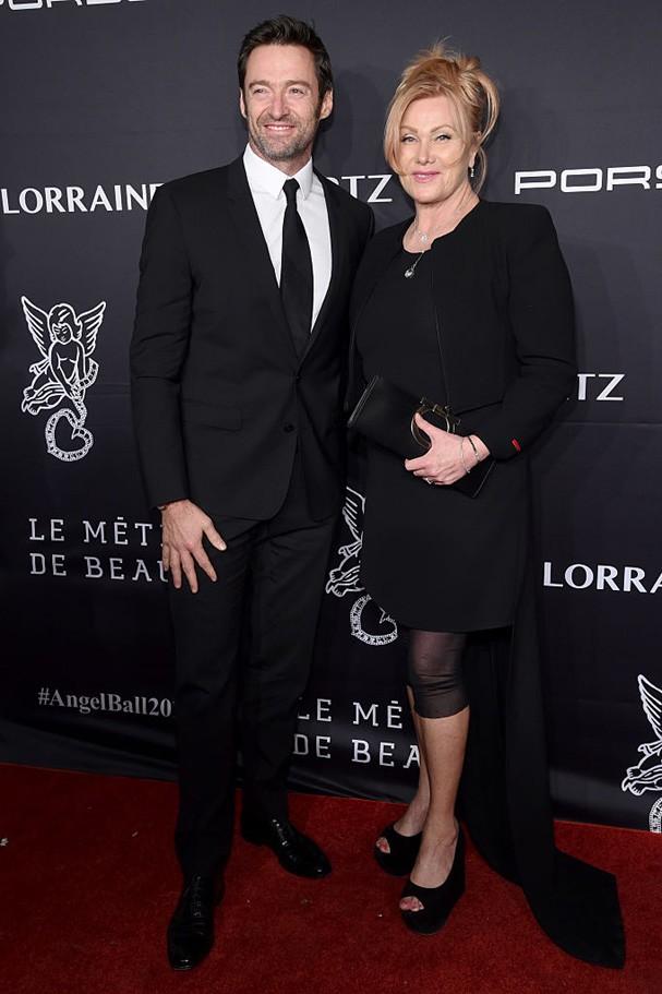 Hugh Jackman e Deborra Lee-Furness (Foto: Getty Images)