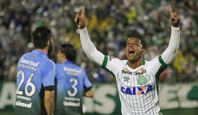 Bruno Rangel Chapecoense x Grêmio (Foto: Futura Press)