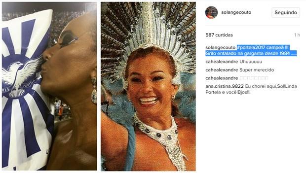 Solange Couto (Foto: Reprodução / Instagram)