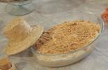Aprenda a receita do creme de leite em pó com paçoca