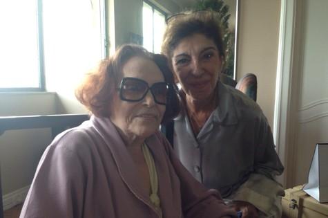 Bibi Ferreira e Marília Pêra (Foto: Arquivo pessoal)
