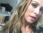Luana Piovani comenta ensaio e afirma: 'Vai ter nu frontal, sim!'