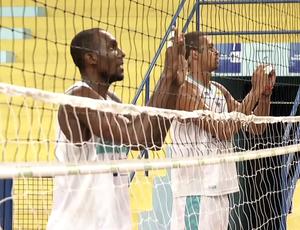 Jônatas e Leozão estiveram presentes na atividade (Foto: Reprodução/TV Rio Sul)