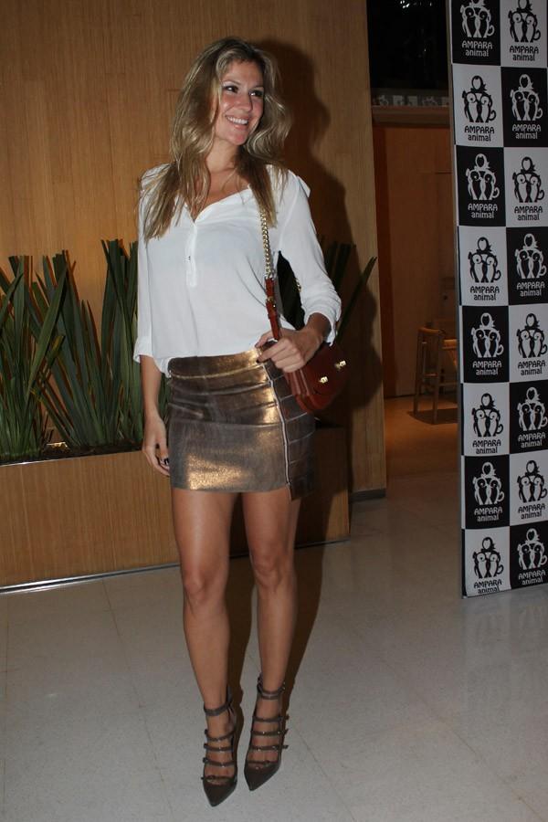 Ellen Jabour em evento em São Paulo (Foto: Celso Tavares / EGO)