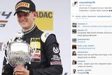 Após 1ª vitória, filho de Schumacher ganha elogios de Massa e Vettel