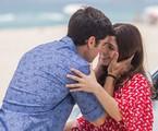 Shirlei (Sabrina Petraglia) e Felipe (Marcos Pitombo)  | Artur Meninea/Gshow