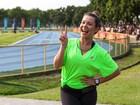 De volta aos treinos, Fê Souza dá dicas para a mulherada não perder o foco