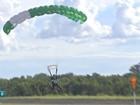 Salto de paraquedas é usado no tratamento de dependentes químicos
