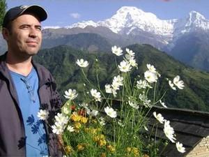 Anternor vive no Nepal há 8 anos (Foto: Benedito Santos / Arquivo Pessoal)