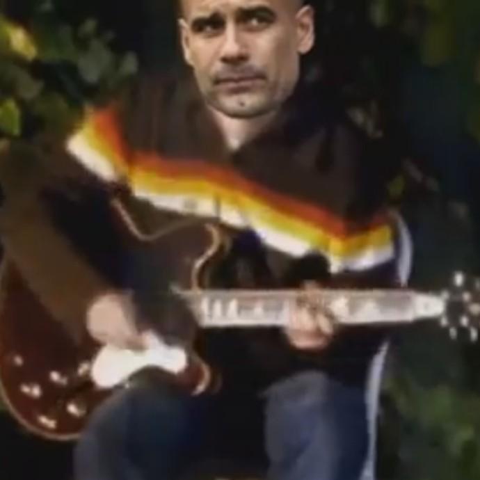 """BLOG: """"Não olhe para trás com raiva!"""" Hit do Oasis embala paródia com Guardiola"""