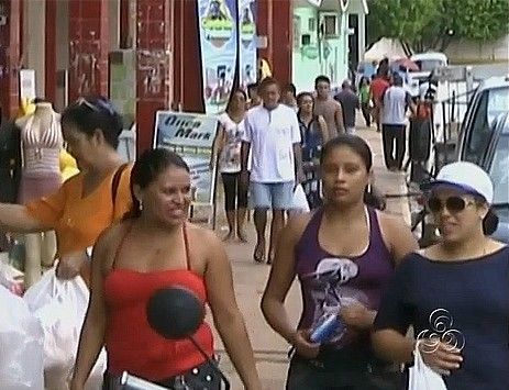 O crescimento atraiu gente de outras regiões principalmente nordestinos (Foto: Bom dia Amazônia)