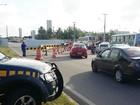 Ônibus quebra e gera engarrafamento de 3 km na BR-101, em Natal