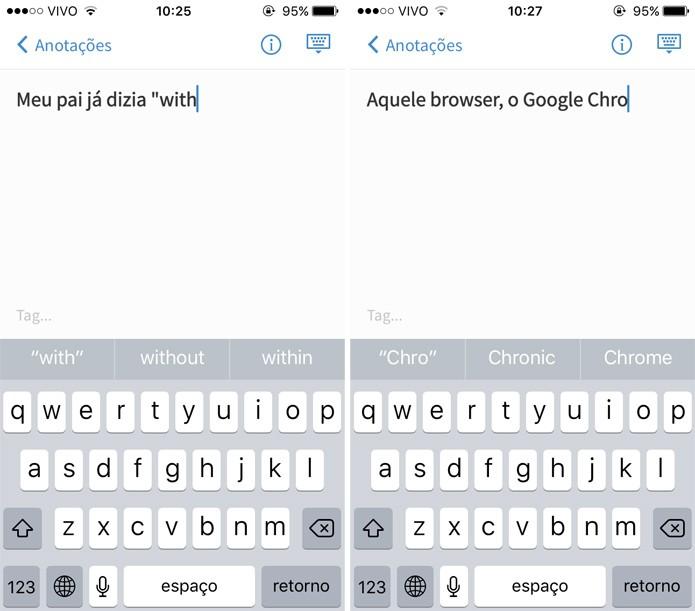 O novo teclado reconhece vários idiomas ao mesmo tempo (Foto: reprodução)