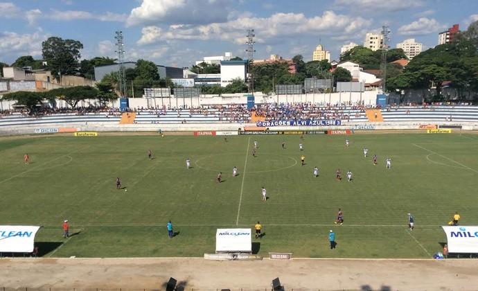 Taubaté Bahia Copa São Paulo Copinha Joaquinzão (Foto: Bruno Pellegrine/ TV Vanguarda)
