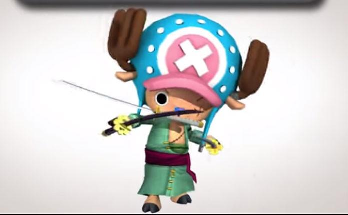 Chopper estrela novo game de One Piece (Foto: Divulgação)