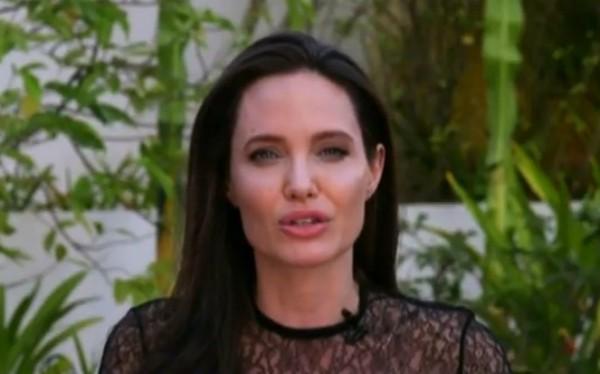 Entrevista Angelina Jolie (Foto: Reprodução )