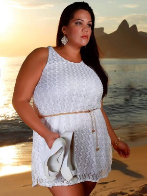 A modelo Cláudia Ferreira é a idealizadora do concurso (Foto: A gordinha mais bonita do Brasil/ Divulgação)