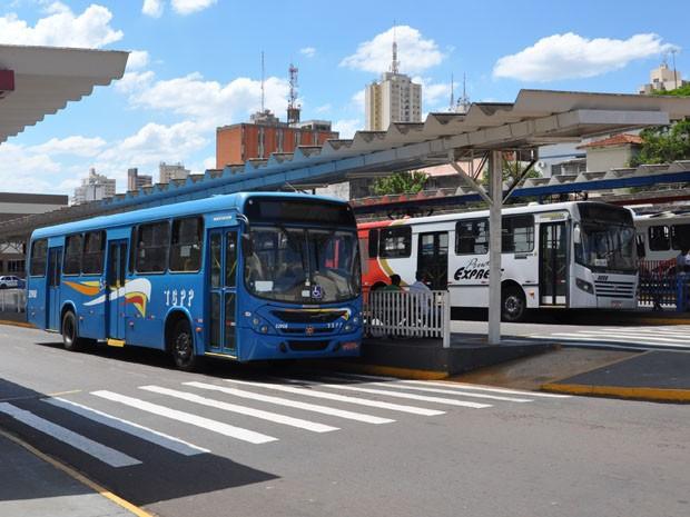 ônibus presidente prudente (Foto: Vinícius Pacheco/G1 Presidente Prudente)