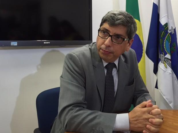 Secretário estadual de Educação do Rio, Antonio Vieira Neto (Foto: Káthia Mello/G1)