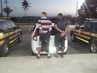PRF prende suspeitos por porte ilegal de arma na BR-101, em Alagoas