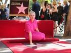 Kaley Cuoco, a Penny de 'Big Bang Theory', ganha estrela em Hollywood