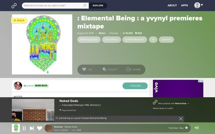 Artistas podem enviar suas próprias músicas para o site (Foto: Reprodução/André Sugai)