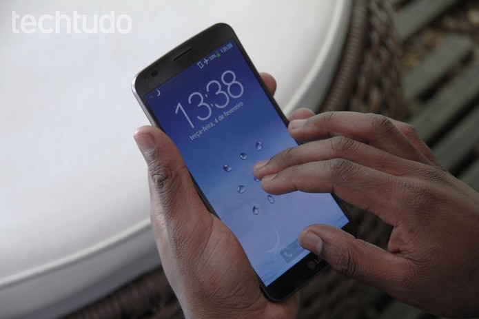 LG G flex 1 (Foto: TechTudo)