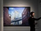 Bob Dylan exibe trabalho como pintor em exposição de quadros em Londres
