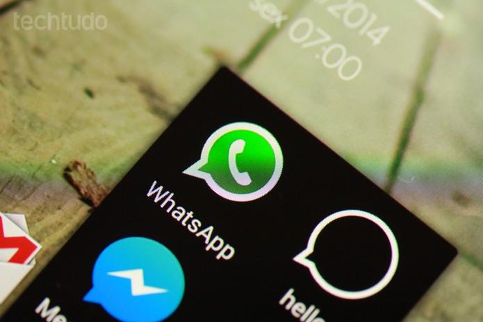 WhatsApp (Foto: Allan Melo / TechTudo)