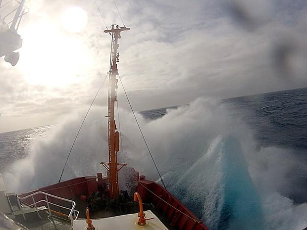 Estreito de Drake, na Antártica (Foto: Reprodução)