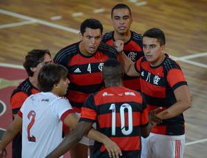 Flamengo x Botafogo - Superliga B de vôlei masculino (Foto: Inovafoto/CBV)