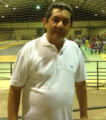 Osmar de Matos: o homem do futsal em Roraima (Foto: Herianne Cantanhede/GloboEsporte.com/rr)